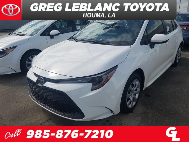 New 2020 Toyota Corolla in Houma, LA