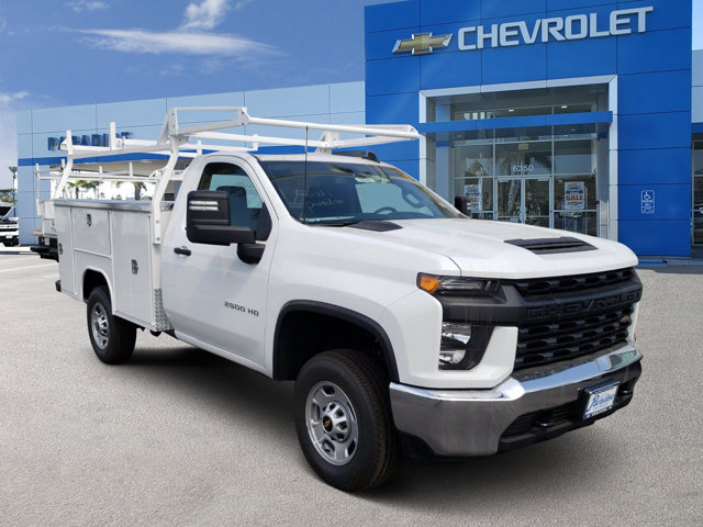 2020 Chevrolet Silverado 2500HD Work Truck 2WD Reg Cab 142″ Work Truck Gas V8 6.6L/400 [0]