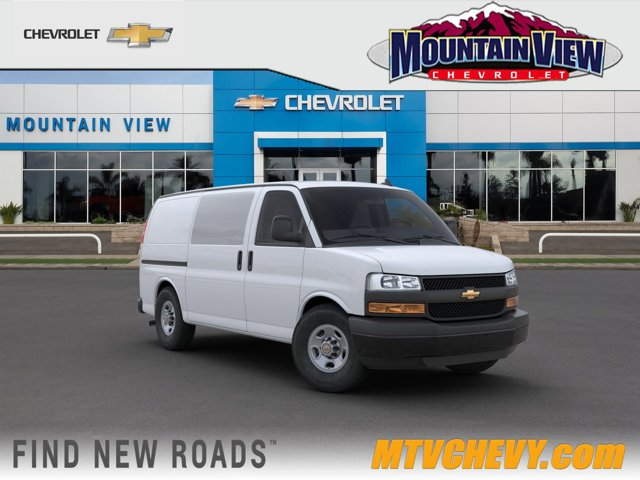 2020 Chevrolet Express Cargo Van Work Van RWD 2500 135″ Gas V6 4.3L/ [0]