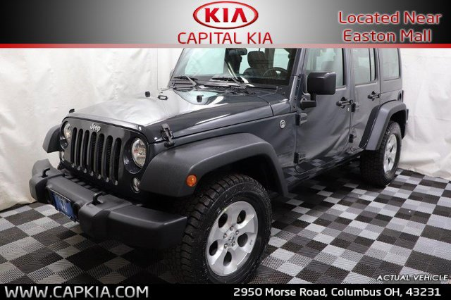 Used 2016 Jeep Wrangler Unlimited in Columbus, OH