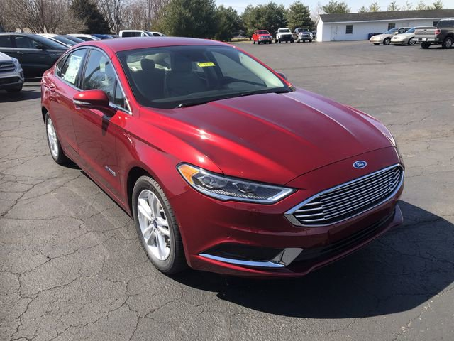 New 2018 Ford Fusion Hybrid in Indianapolis, IN
