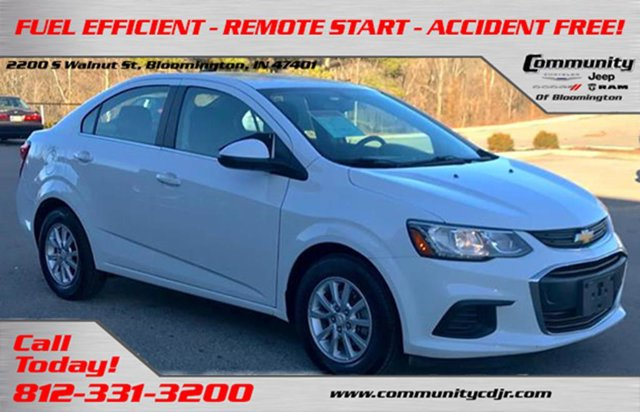 Used 2017 Chevrolet Sonic in Bloomington, IN