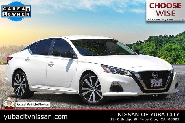 2020 Nissan Altima 2.5 SR 2.5 SR Sedan Regular Unleaded I-4 2.5 L/152 [10]