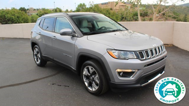 2020 Jeep Compass Limited Limited FWD Regular Unleaded I-4 2.4 L/144 [4]