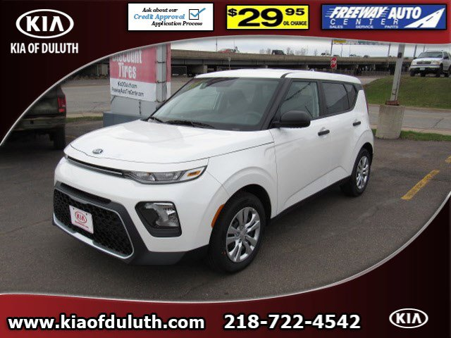 New 2020 KIA Soul in Duluth, MN