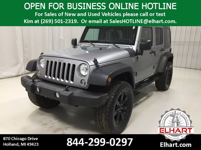 Used 2016 Jeep Wrangler Unlimited in Holland, MI
