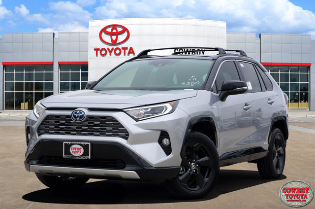 New 2020 Toyota RAV4 Hybrid in Dallas, TX