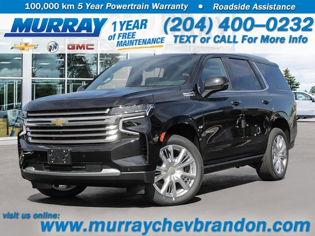 2021 Chevrolet Tahoe High Country 4WD 4dr High Country Turbocharged Diesel I6 6.2./ [1]