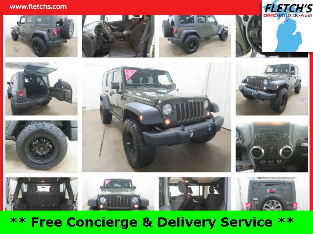 Used 2015 Jeep Wrangler Unlimited in Petoskey, MI