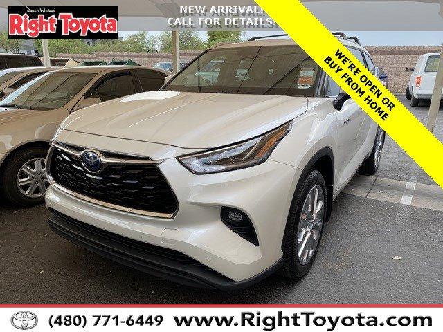 2020 Toyota Highlander Hybrid Limited Hybrid Limited AWD Gas/Electric I-4 2.5 L/152 [10]