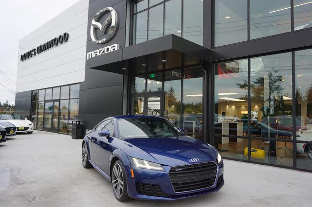 Used 2016 Audi TT 2dr Cpe S tronic quattro 2.0T