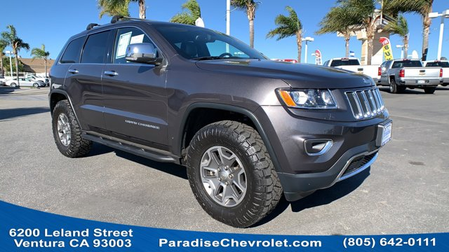 2015 Jeep Grand Cherokee Limited 4WD 4dr Limited Regular Unleaded V-6 3.6 L/220 [1]