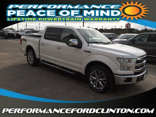 The 2017 Ford F-150 Lariat photos