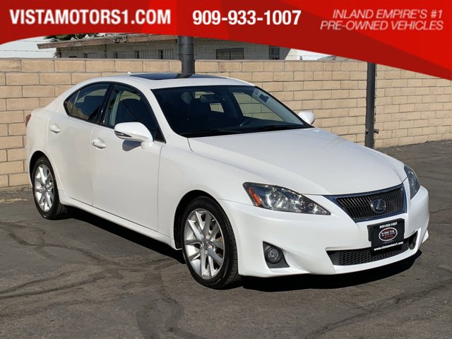 2012 Lexus IS 250 Premium Pkg Value Edition 4D Sedan V6 2.5L