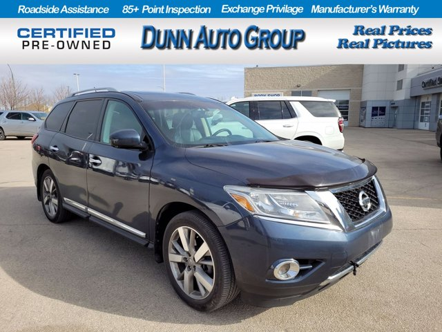 2014 Nissan Pathfinder Platinum 4WD 4dr Platinum Regular Unleaded V-6 3.5 L/213 [5]