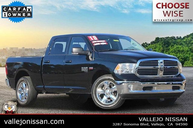 "2019 Ram 1500 Classic Big Horn Big Horn 4x2 Crew Cab 6'4"" Box Regular Unleaded V-8 5.7 L/345 [49]"
