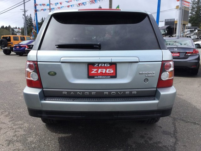Used 2008 Land Rover Range Rover Sport 4WD 4dr HSE