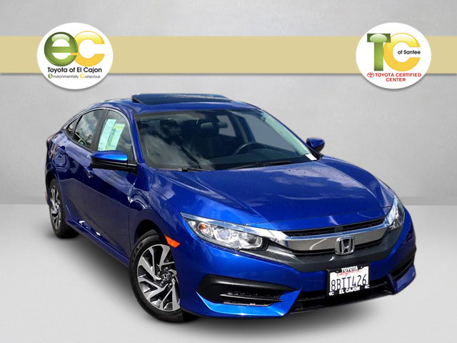 Used 2017 Honda Civic Sedan in Santee, CA