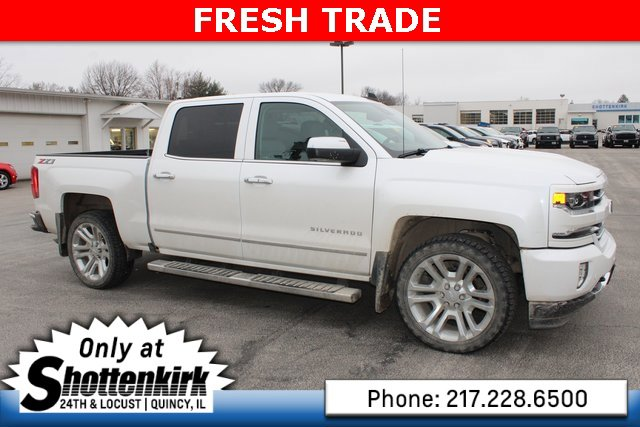 Used 2018 Chevrolet Silverado 1500 in Quincy, IL