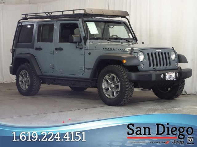 Used 2015 Jeep Wrangler Unlimited in San Diego, CA