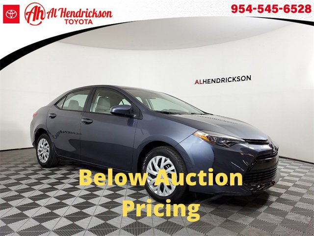 Used 2018 Toyota Corolla in Coconut Creek, FL