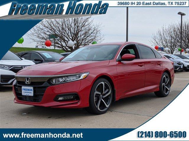 New 2020 Honda Accord Sedan in Dallas, TX