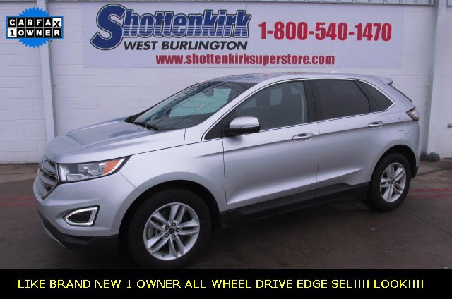 Used 2018 Ford Edge in West Burlington, IA