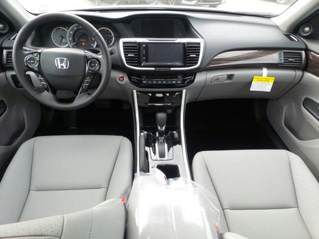 New 2017 Honda Accord Sedan EX-L V6 Auto w-Navi and Honda Sensing