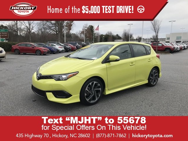 Used 2018 Toyota Corolla iM in Hickory, NC