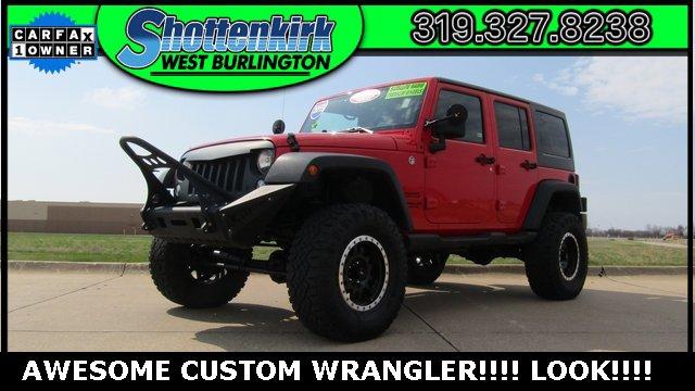 Used 2015 Jeep Wrangler Unlimited in West Burlington, IA