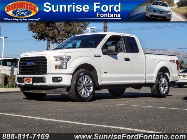 2017 Ford F-150  Twin Turbo Regular Unleaded V-6 2.7 L/164 [6]
