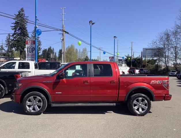 2013 Ford F-150 4WD SuperCrew 145 FX4
