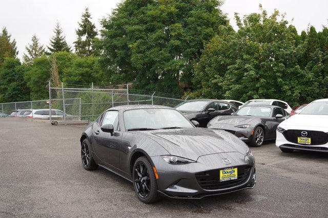 New 2020 Mazda MX-5 Miata RF in Edmonds Lynnwood Seattle Kirkland Everett, WA