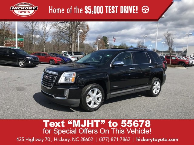 Used 2016 GMC Terrain in Hickory, NC
