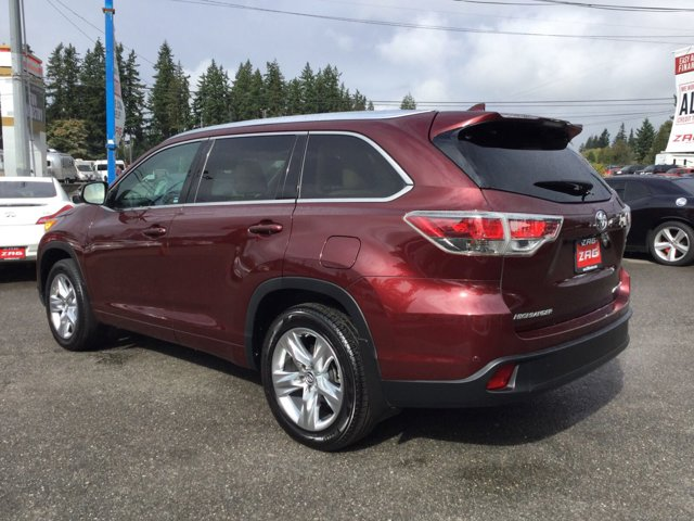 Used 2016 Toyota Highlander AWD 4dr V6 Limited