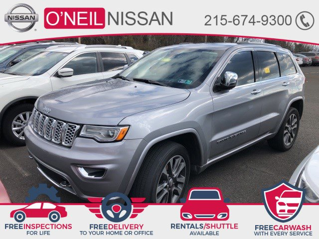 2018 Jeep Grand Cherokee Overland Overland 4x4 Regular Unleaded V-6 3.6 L/220 [6]