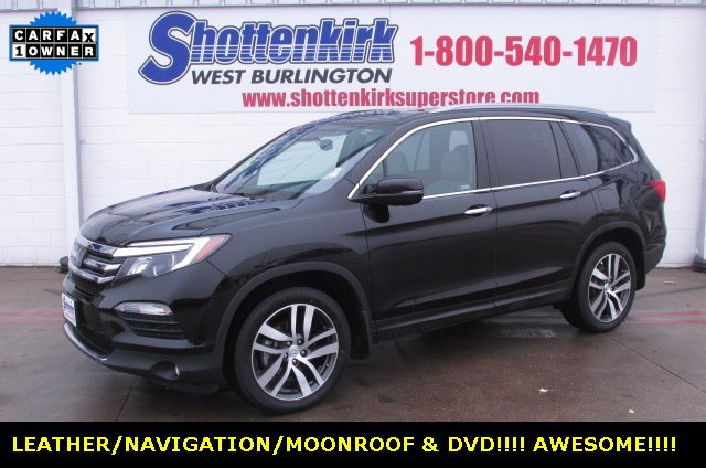 Used 2018 Honda Pilot in West Burlington, IA