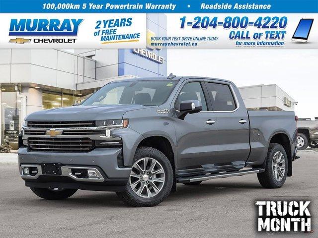 "2021 Chevrolet Silverado 1500 High Country 4WD Crew Cab 157"" High Country Gas V8 5.3L/325 [17]"