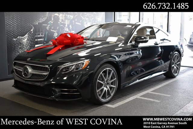 2021 Mercedes-Benz S-Class S 560 S 560 4MATIC Coupe Twin Turbo Premium Unleaded V-8 4.0 L/243 [17]