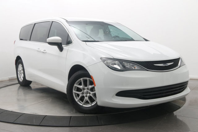 2017 Chrysler Pacifica LX BRIGHT WHITE CLEARCOAT TRANSMISSION 9-SPEED 948TE FWD AUTOMATIC  STD