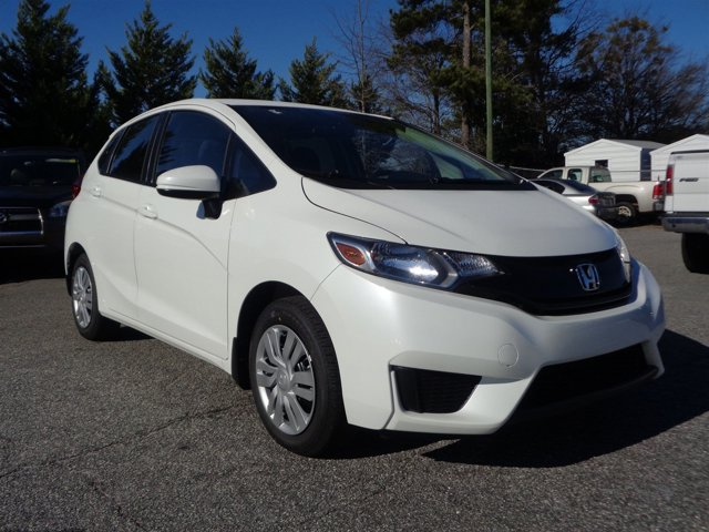 2017 Honda Fit GK5H5HEW LX Continuously Variable White Black Front Wheel Drive Power Steering