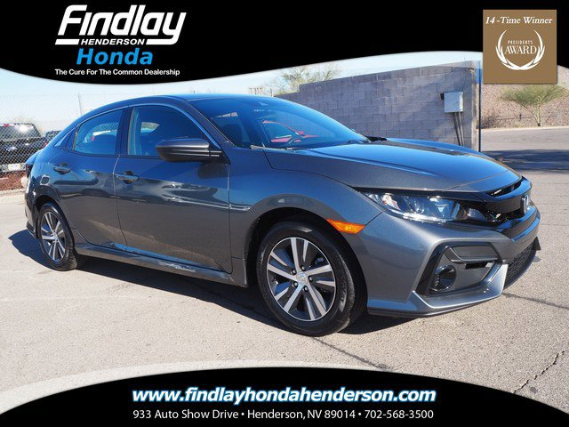 New 2020 Honda Civic Hatchback in Las Vegas, NV