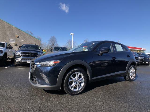 2016 Mazda CX-3 Sport DEEP CRYSTAL BLUE MICA BLACK  CLOTH UPHOLSTERY  -inc gray inserts WHEEL LO