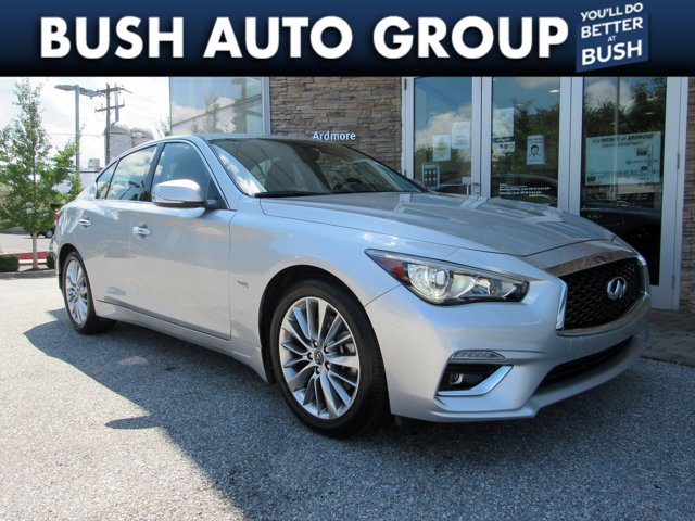 2018 INFINITI Q50 3.0t LUXE 3.0t LUXE AWD Twin Turbo Premium Unleaded V-6 3.0 L/183 [8]