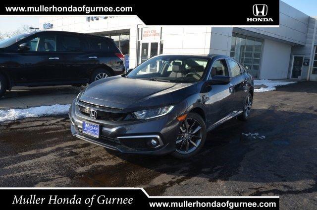 New 2020 Honda Civic Sedan in Gurnee, IL