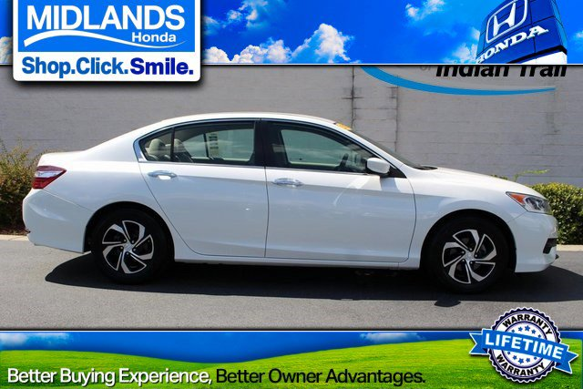 2017 Honda Accord Sedan LX LX CVT Regular Unleaded I-4 2.4 L/144 [11]