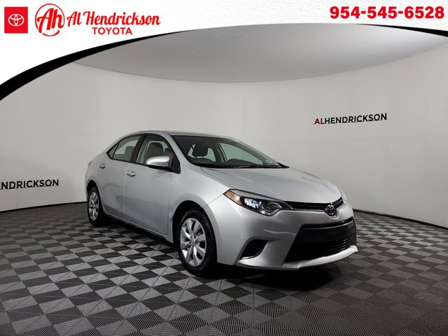 Used 2016 Toyota Corolla in Coconut Creek, FL