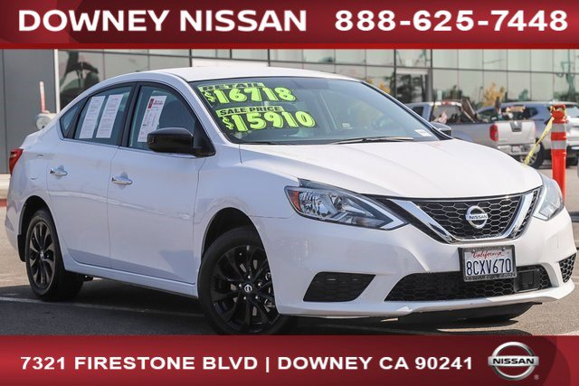 2018 Nissan Sentra S S CVT Regular Unleaded I-4 1.8 L/110 [8]