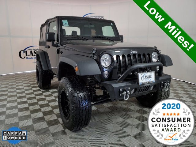Used 2017 Jeep Wrangler in Midland, TX