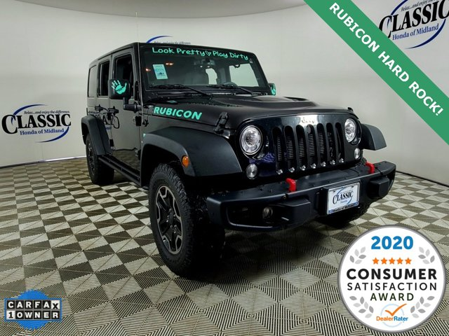 Used 2017 Jeep Wrangler Unlimited in Midland, TX